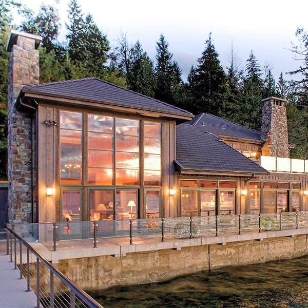 Hood Canal Home: Designed With Northwest Sensibility