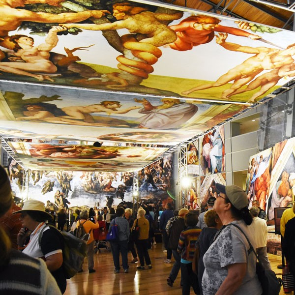 Rome to Tacoma: Michelangelo's Sistine Chapel Exhibition